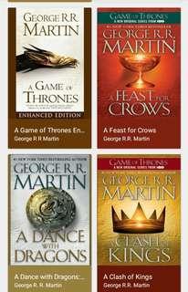 Game of Thrones book set Epub