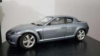 1:18 Scale AUTOart Mazda RX-8 6MT Silver