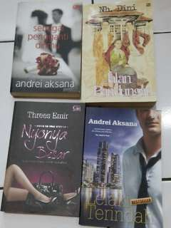 Koleksi novel preloved
