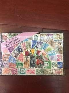 🚚 世界各國郵票