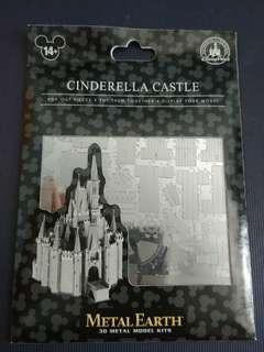 Disneyland Cinderella  城堡 模型