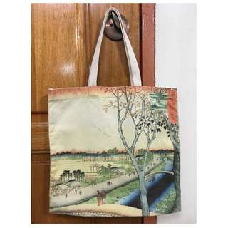 Edo Theme Tote Bag
