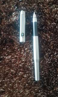 Parker 25 Stainless Steel Fountain Pen