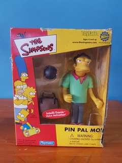 Simpsons Figure - Pin Pal Moe