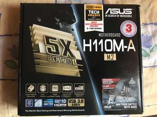 ASUS H110M-A M.2 motherboard local set