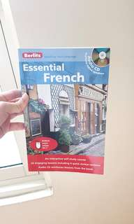 Berlitz Essential French Book
