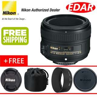 NIKON AF-S 50MM F1.8G NIKKOR LENS  ««ORIGINAL & OFFICIAL NIKON»»