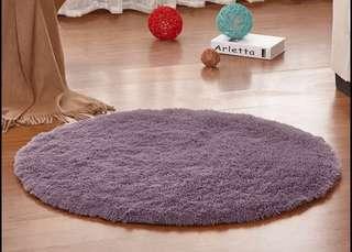 圓形地毯(全新未使用)100x100cm