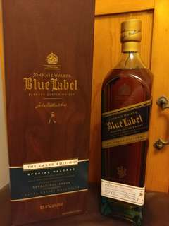 Johnnie Walker blue label (The Casks Edition)