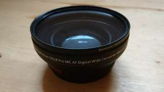 Lens 62mm Wide Angle Digital HD 0.5x