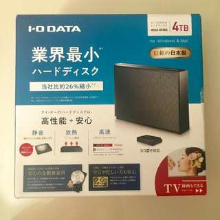 Brand New 4TB Portable Hard Drive