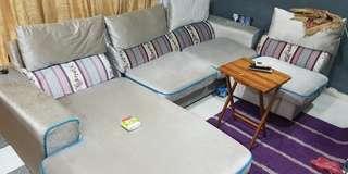 Sofa L shaped. 3 piece