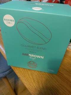 Mr.  BROWN coffee 3in1 伯朗咖啡 1盒12 包 三合一, 100% Arabica阿拉比卡豆