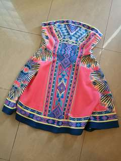Pretty tribal tube dress