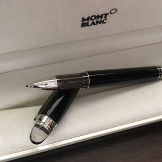 ~35% off Montblanc [NEW] StarWalker Platinum Resin Fineliner 高級簽名筆