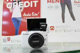 Kredit Kamera Canon M10 Prosee cepat cuman 3 menit cicilan 0% tanpa kartu kredit