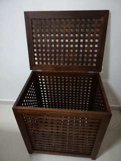 Teak wood storage box