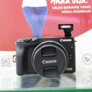 Kredit Kamera Canon M3 proses cepat cuman 3 menit cicilan 0% tanpa kartu kredit
