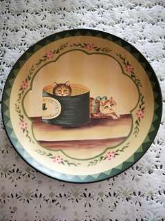 Display Hand Painted Plate by Riccardo