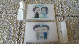 明诚 明楼 ezlink card sticker