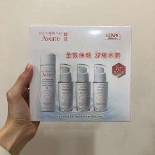 全新醫美品牌雅漾Avene 全效活泉保濕精華液+舒護活泉水組合