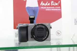 Kredit Kamera Sony A6000 Proses Cepat Cuman 3 menit cicilan 0% tanpa kartu kredit