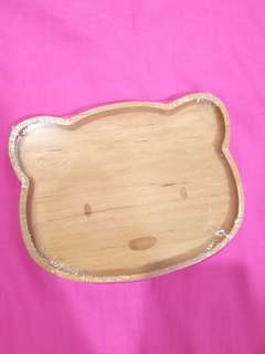 Wooden Plate for kids (from Korea)