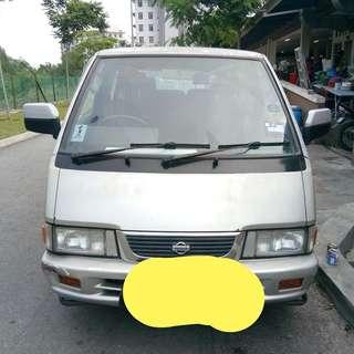 Nissan Vannete window 2001