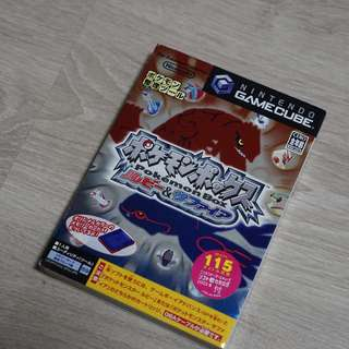 Pokemon Box Ruby & Sapphire Nintendo Gamecube Japanese Game with LE Memory Card