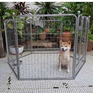 *INSTOCKS* Premium Heavy Duty pet playpen / dog cage / dog fence / dog playpen / gate