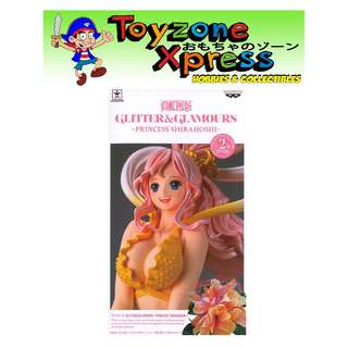 Banpresto One Piece Glitter & Glamours - Princess Shirahoshi (A)