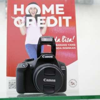 Kredit Kamera Canon eos 1300d Proses cepat Cuman 3 menit cicilan 0% tanpa kartu kredit