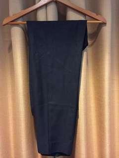Office black pants size 34