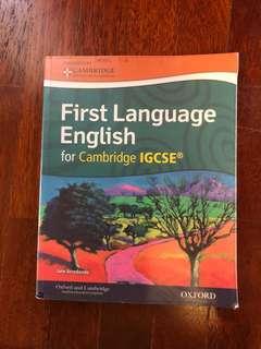 IGCSE FIRST LANGUAGE ENGLISH TEXTBOOK