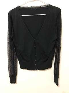 🚚 針織蕾絲外套