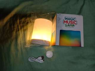 Speaker - Music lamp