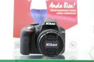 Kredit Kamera Nikon D3300 Proses cepat cuman 3 menit cicilan 0% tanpa kartu kredit