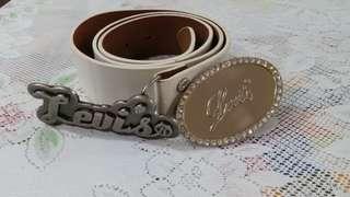 Ladies Levi's Leather Belt