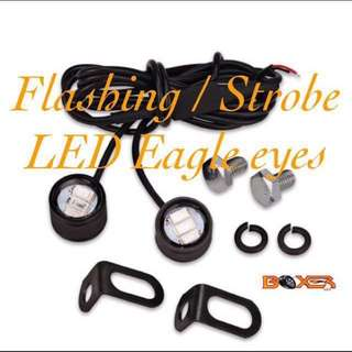 Flashing eagle eyes 23mm