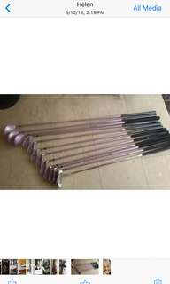 Ladies' golf set. Bought for $700. Hardly use it . Lost interest.