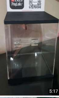 Donation box prototype for project