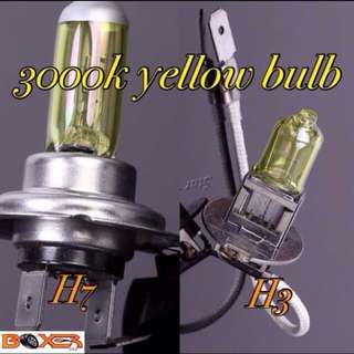 3000k yellow halogen bulb
