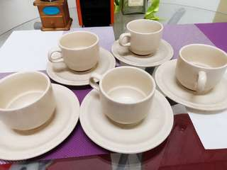 Coffee or tea cup set