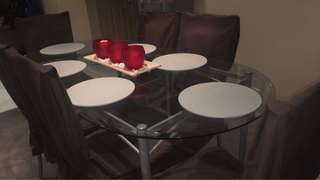 Dining table plus chairs