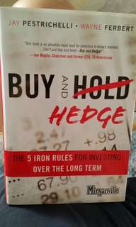 Buy and hold (hedge)- 5 iron rules for investing over the long term