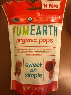 Yumearth yum earth organic pops vitamin c