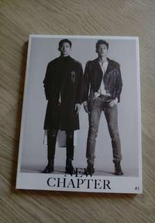 東方神起 TVXQ 8輯 NEW CHAPTER #1 THE CHANCE OF LOVE