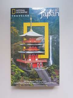 Nat Geo Tavel Guide Japan