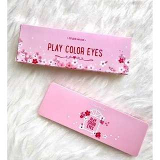 Pre-loved Authentic Play Color Eyes Palette