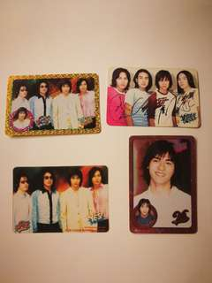 ($15/10pcs) F4 yes card (閃卡,簽名卡,膠卡...)